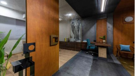 Metal Box Office | tHE gRID Architects