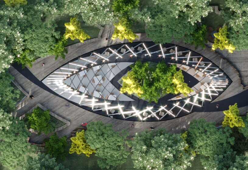 Leaf and Bean Coffee Co. Pavilion | Mask Architects