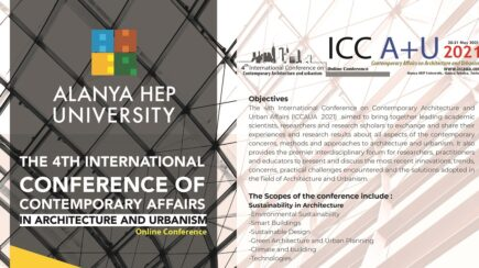 4th International Conference of Contemporary Affairs in Architecture and Urbanism