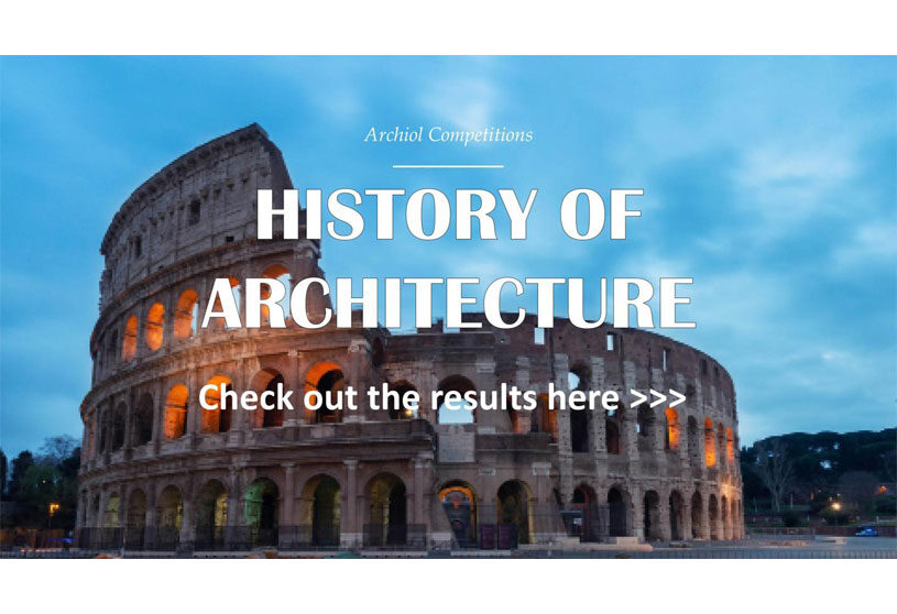 Result Announced   History of Architecture-Architecture Writing Competition