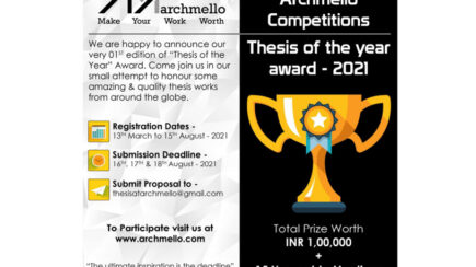 Thesis Of The Year Award – 2021