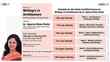 Writing/s in Architecture   Writing Course