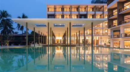 65 Rooms Extension Goldi Sands Hotel Negombo | Lalith Gunadasa Architects