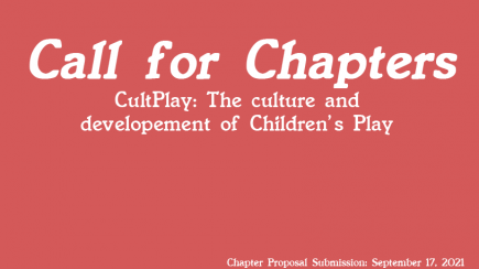 CultPlay- The Culture & Development of Children's Play