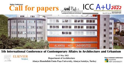 The 5thInternational Conference of Contemporary Affairs in Architecture and UrbanismICCAUA2022