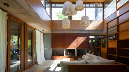 House among trees   Berson Arquitectura