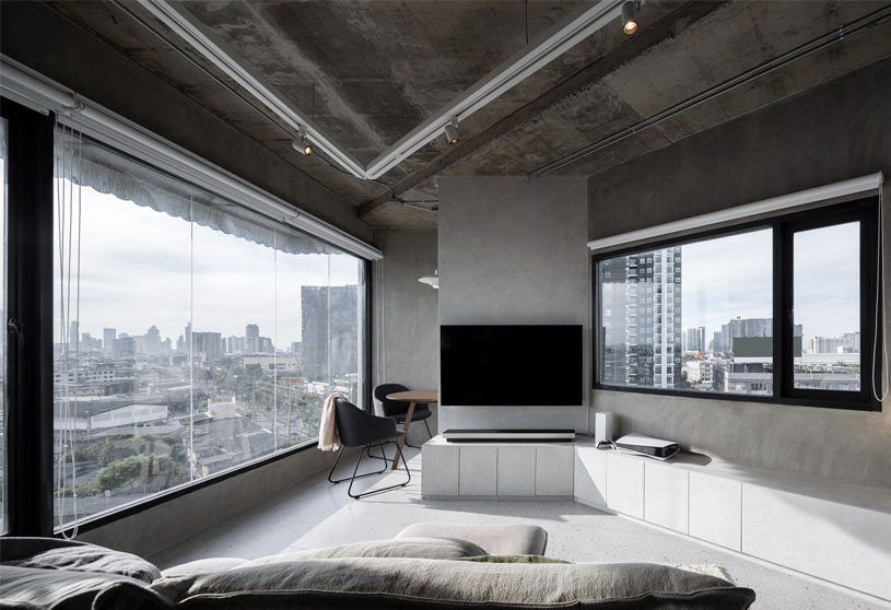 Pent(agon) house | Touch Architect