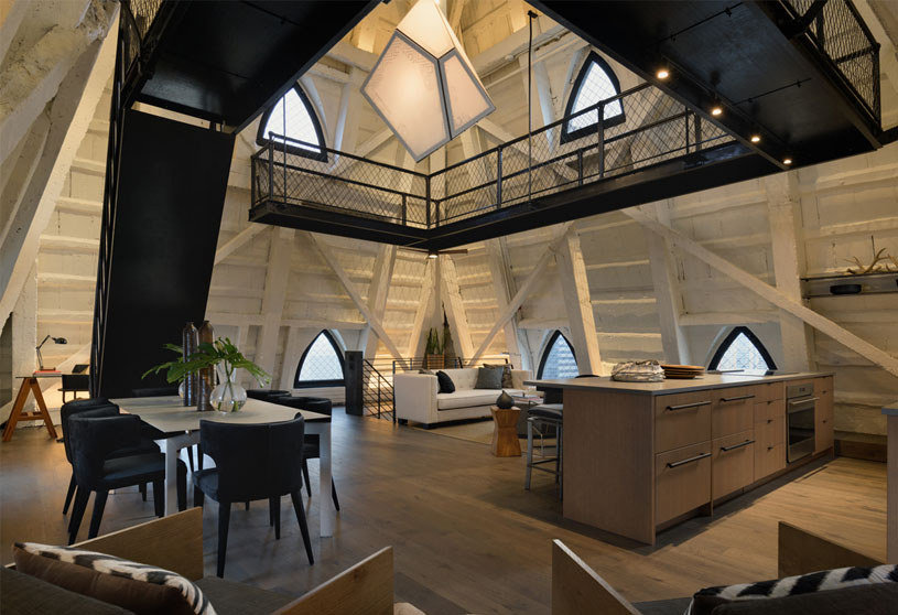 The Penthouse at Smith Tower   Graham Baba Architects