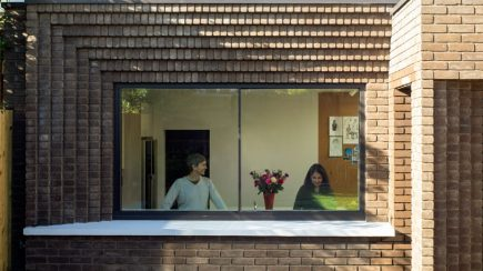 The Corbelled Brick Extension   Yard Architects