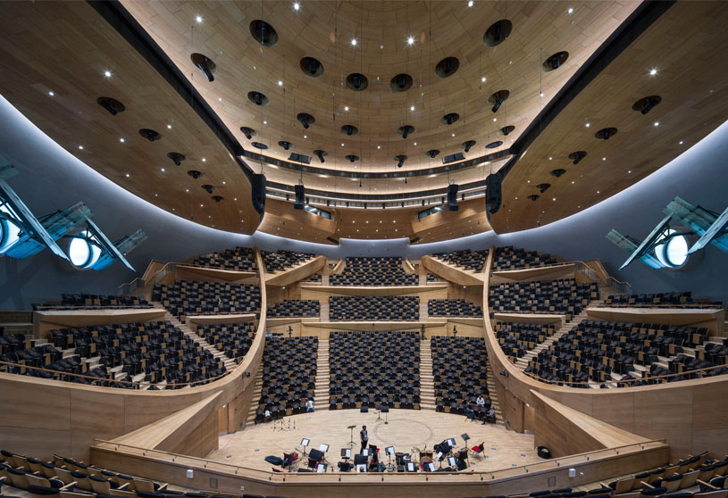 The Presidential Symphony Orchestra Concert Hall | Uygur Architects