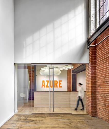 01 Azure Office - Entry - photography by Shai Gil