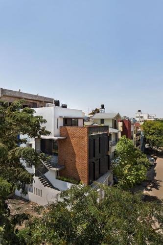 Ethirajan House and Between Spaces Office - photography by Kunal Bhatia; designed by Between Spaces Architects.